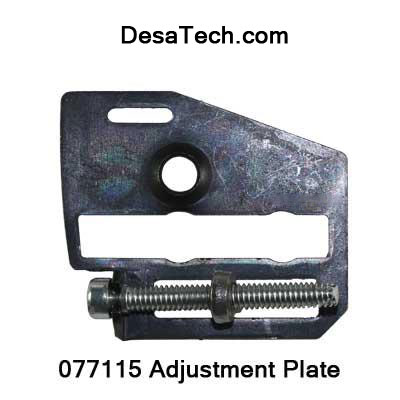 077115 adjusting plate MTD-DESA Electric Chainsaw and Polesaws